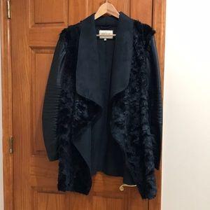 River Island faux fur coat